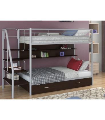 buymebel.ru кровать двухъярусная с лестницей Толедо-ПЯ