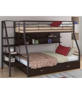 кровать двухъярусная с лестницей Толедо-1-ПЯ