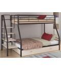 кровать двухъярусная с лестницей Толедо-1-Я