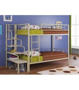кровать Севилья-2 + лестница для металлических кроватей