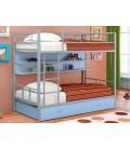 двухъярусная кровать Севилья-2 ПЯ серый / голубой