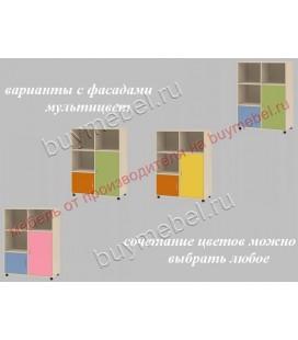 фасады мультицвет ДЕЛЬТА-7.02 тумба комбинированная