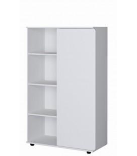 Дельта-Лофт 13 шкаф комбинированный белый