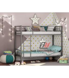 двухъярусная кровать Севилья-2 цвет серый