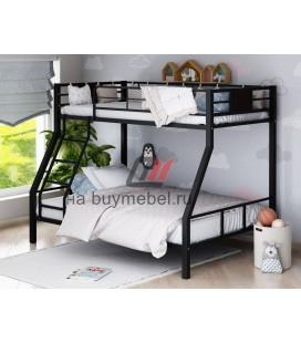 двухъярусная кровать Гранада-1 чёрнаяая