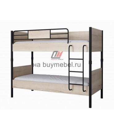 buymebel.ru Дельта-Лофт-20.02.02 двухъярусная кровать натур