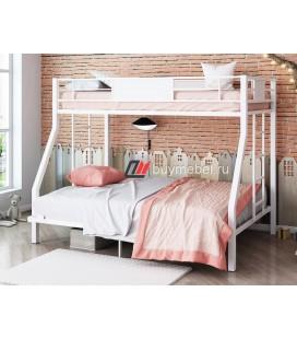 кровать Гранада 1400 белый / белый