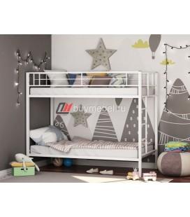 двухъярусная кровать Севилья белая
