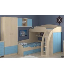 двухъярусная кровать Соня 1+2+3