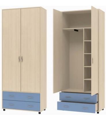 ДЕЛЬТА-4 шкаф для одежды с ящиками