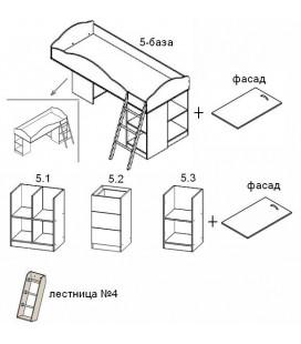 Дюймовочка-5 комплектация №1 схема модулей