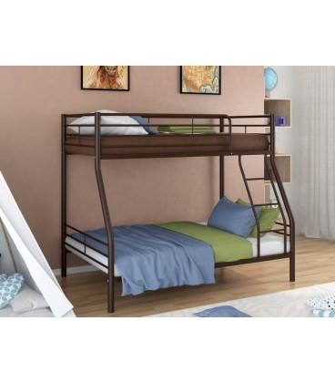 buymebel.ru двухъярусная кровать Гранада-2 цвет коричневый