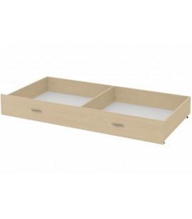 ящик для металлических кроватей цвет дуб молочный
