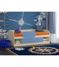 фото Соня 4 кровать с бортиком(бортик заказывается отдельно)