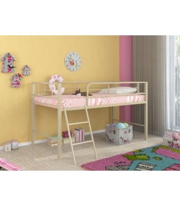 кровать-чердак Севилья-мини цвет слоновая кость (бежевый)