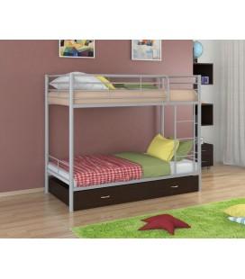 двухъярусная кровать Севилья-3 Я серый - венге