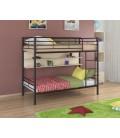 двухъярусная кровать Севилья-3 П коричневый - дуб молочный