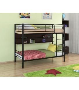 двухъярусная кровать Севилья-3 П чёрный - венге