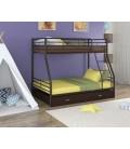 двухъярусная кровать Гранада-2 Я коричневый - венге