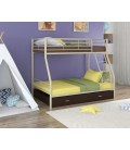 двухъярусная кровать Гранада-2 Я слоновая кость - венге