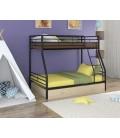 двухъярусная кровать Гранада-2 Я чёрный - дуб молочный
