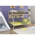buymebel.ru двухъярусная кровать Гранада-2 П слоновая кость - дуб молочный