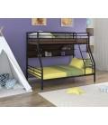 buymebel.ru двухъярусная кровать Гранада-2 П чёрный - венге